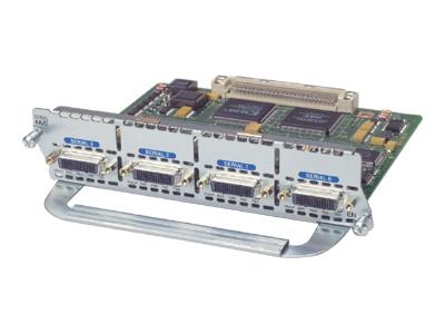 CISCO NM-4A/S. 4-Port Async/Sync Serial Network Module.